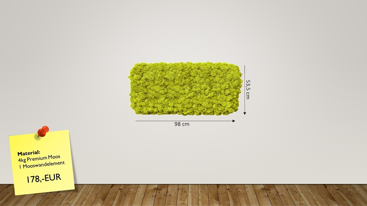 mooswand herstellen und mooswand bauen mit mooswandelementen. Black Bedroom Furniture Sets. Home Design Ideas